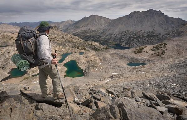 Backpacking Over Glen Pass
