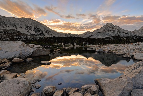 Sunrise Over Kearsarge Pass