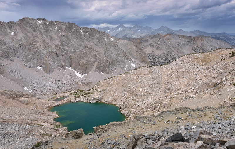 Unnamed Lake below the South Side of Glen Pass