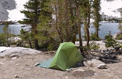 Camp at Lake #2