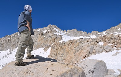 Self Portrait with the Sierra Crest