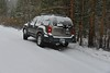 Snow Fall at the Hilton Lakes Trailhead