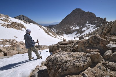 Self Portrait and Peak 12,508'