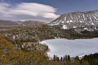 Lenticular Clouds Approaching Rock Creek Lake