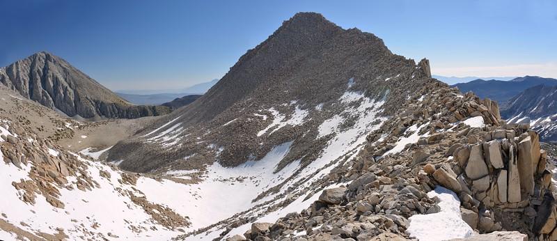 Mount Morgan (L) and Peak 12,508' (R) Pano