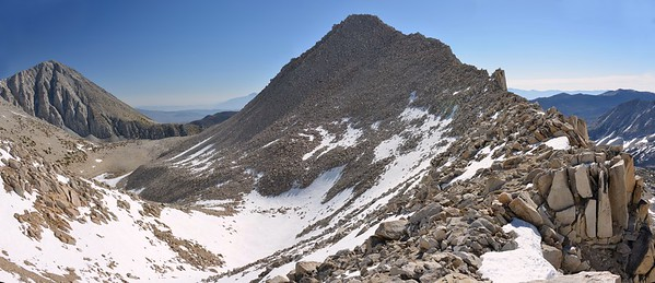 Mount Morgan (L) and Peak 12,508' (R) Pano