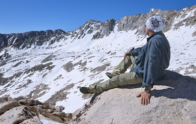 Self Portrait Above the Hilton Drainage