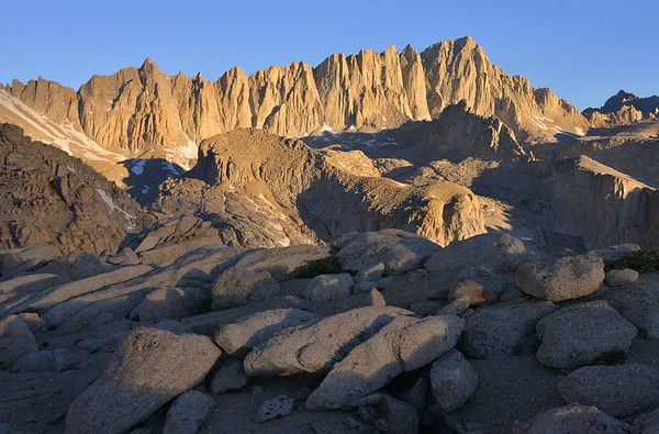 Mount Whitney Alpenglow