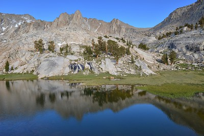Reflections in Camp Lake