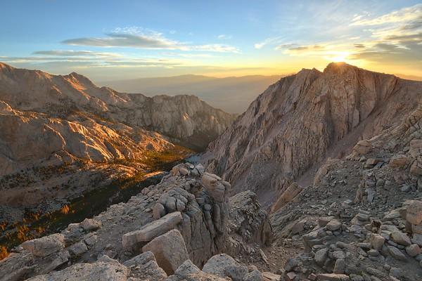 Sunrise Over Candlelight Peak (12,219')