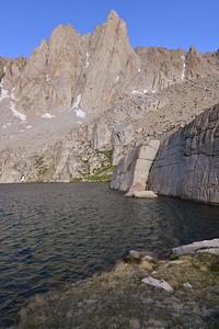 Mount Irvine (13,770') and Meysan Lake