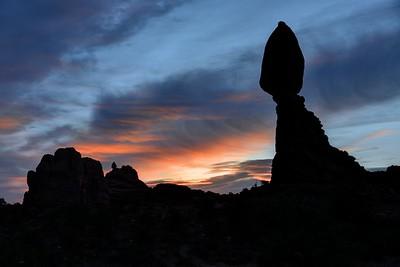 Balanced Rock Morning Profile