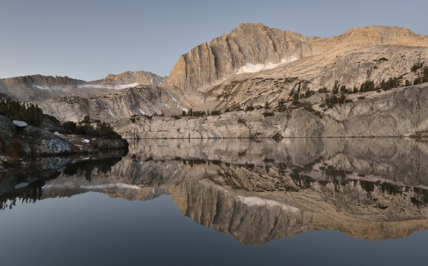 Dawn Reflections in Steelhead Lake