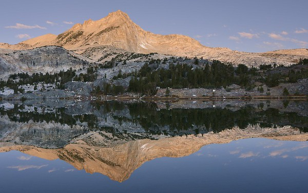 North Peak Reflected in Greenstone Lake