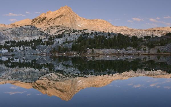 North Peak Reflected in Greenstone Lake