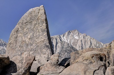 Shark Tooth and Lone Pine Peak