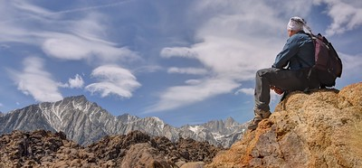 Self Portrait (Whitney and Lone Pine Peak)