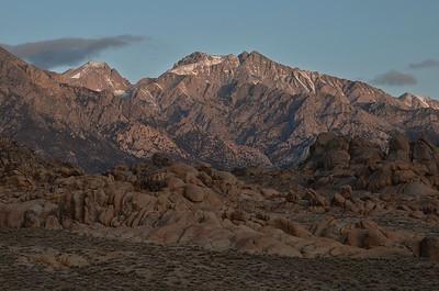 Good Morning Mount Williamson (14,389')