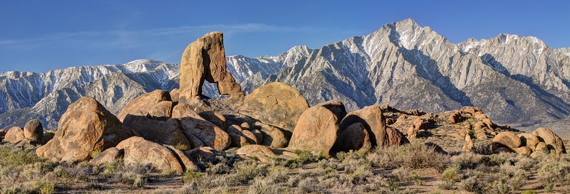 Boot Arch and Lone Pine Peak