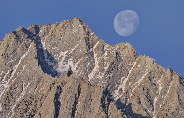 Moon Set Over Lone Pine Peak