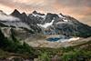 Mount Shuksan and Lake Ann Sunrise