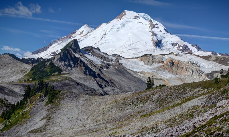Mount Baker and the Coleman Pinnacle