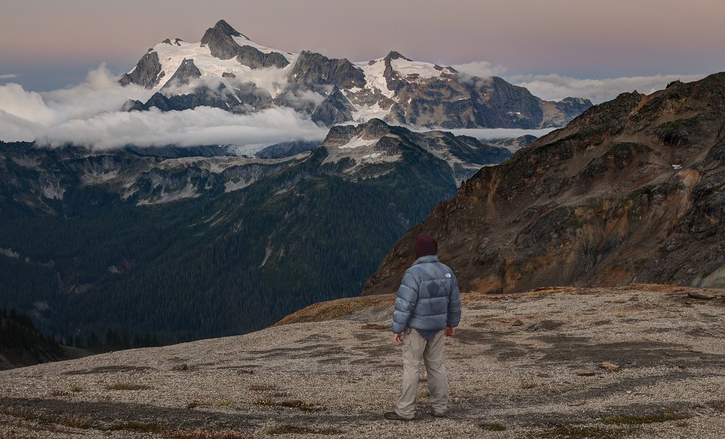 Self Portrait with Mount Shuksan