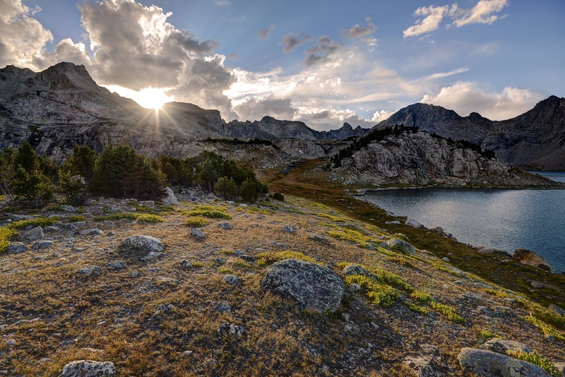 Sunset From the Baptiste Basin