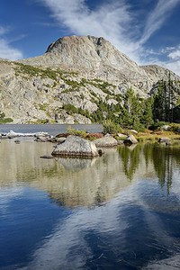 Valentine Lake and the East Side of Cathedral Peak