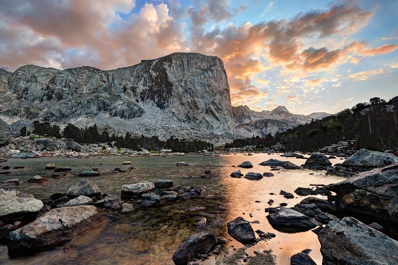 Mount Hooker Sunset