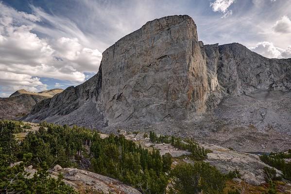 Mount Hooker From the Baptiste Basin