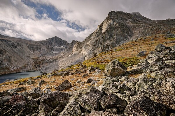 Mount Washakie and Pass Lake