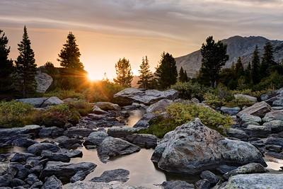 Sunrise From Hooker Creek