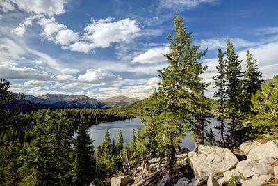 Above Valentine Lake