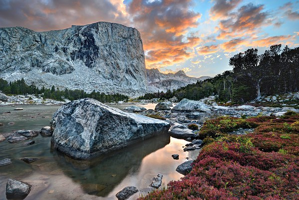 Mount Hooker and the Color of the Wind River