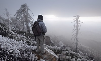 Frigid Summit of Cuyamaca Peak