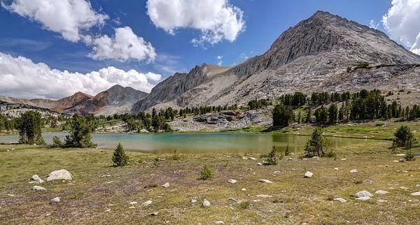 Small Lake Near Camp in the Basin