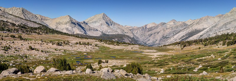 Arrow Peak and the Head of the South Fork of the Kings River