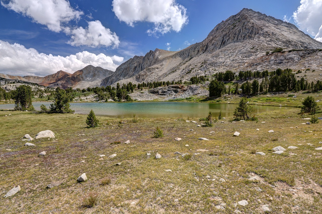 Lake Near Camp in the Basin