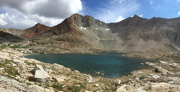 Iphone Shot of Unnamed Lake Above Marjorie