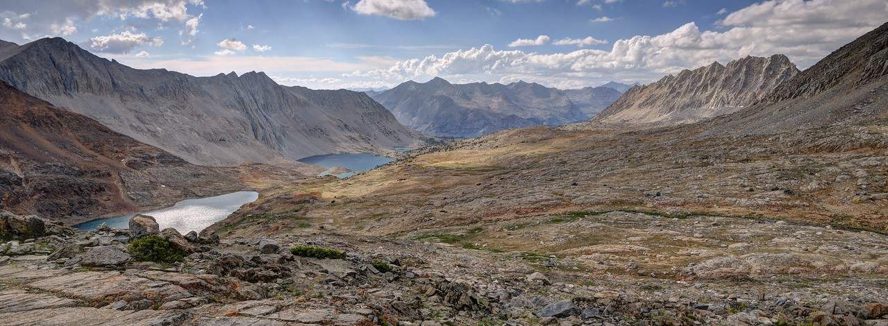 North From Pinchot Pass
