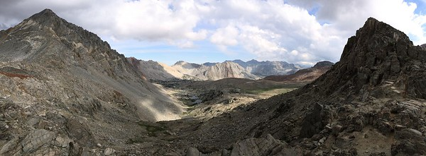 Iphone Shot of Pinchot Pass Looking South
