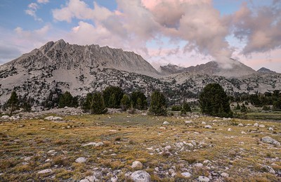 Pinchot Mountain (sunset)