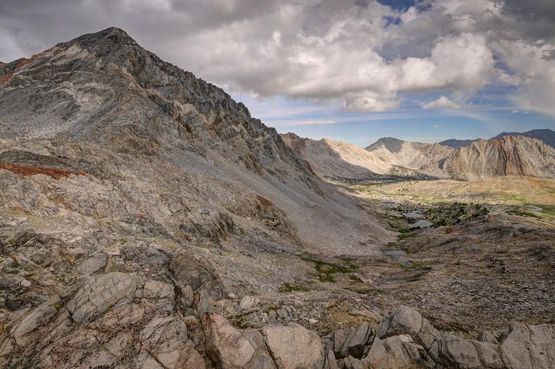 Mount Wynne From Pinchot Pass