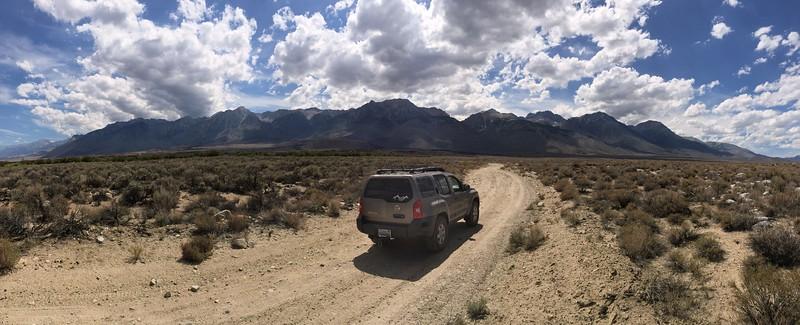 Taboose Pass, Straight Ahead......