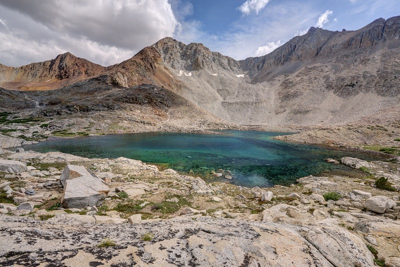Clear Blue Lake and Mount Ickes