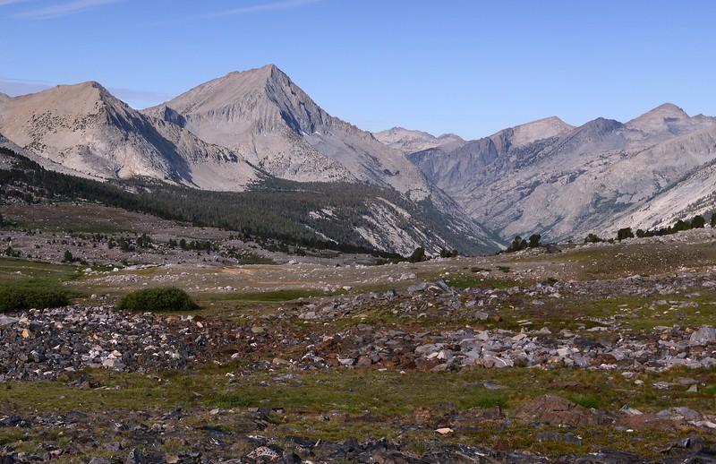 Arrow Peak and Bench Lake