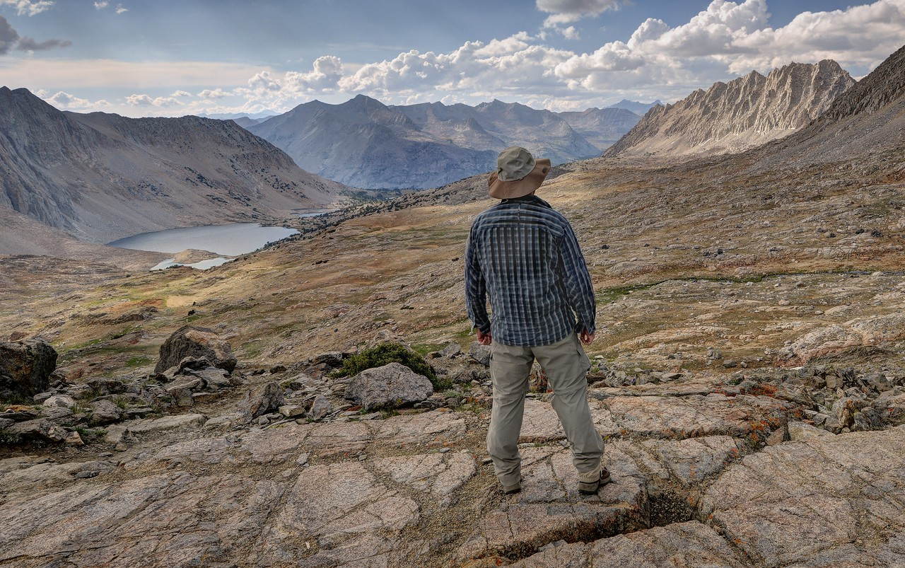 Self Portrait from Pinchot Pass
