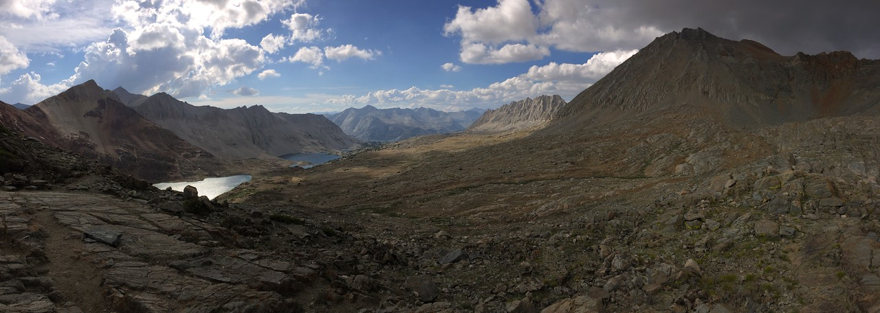 Iphone Shot From Pinchot Pass Looking North