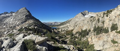 Pano Looking South Over Selden Pass